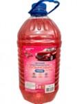 Дальновид люкс Стеклоомывающая жидкость летняя RED 5л (Аромат вишни) (РБ) (Этиловый спирт <5%)