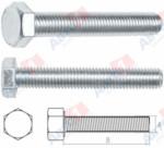 STARFIX Болт М5х10 мм шестигр., цинк, кл.пр. 5.8, DIN 933 (25 шт в зип-локе) (Китай) (SMZ1-12463-25)