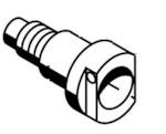 BOSCH 1683458024 клапан топливного стенда