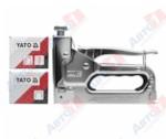YATO YT-7000_Степлер механический, для П-образных - 6-14х10.6х1.2 мм, U-образных скоб - 10-12х6.2х1.2 мм