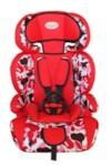 AUTOLUXE AUML3031-RM Автокресло детское (9-36кг) Red Mix, 5-точечных ремней безопасности, 2 положения ремней безопасности, регулировка подголовника по высоте. Трансформируется в бустер