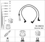 NGK RC-VW210 (0941) VW Golf III 1.6-2.0i 91- к-т проводов
