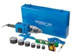 SOLARIS Сварочный аппарат для полимерных труб PW-1502 (1500 Вт, 6 насадок: 20 - 63 мм, 2 режима нагрева, доп.аксессуары)