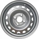 Magnetto 15001 6x15 PCD4/100 ET50 D60.1 Silver Штампованные