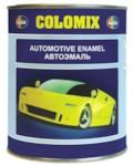 COLOMIX Автоэмаль алкидная 1К 601 черная 0,8кг банка