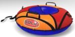 Bolk BK001R-LUXE Тюбинг - надувные санки до 80кг D85см ПВХ-650/950 камера Россия/R13 коробка BK001R-LUXE