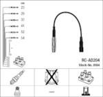 NGK RC-AD204 (0504) AUDI A6 2.6-2.8i -97 к-т проводов