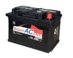 ЭНЕРГАСИЛА Стандарт 6СТ- 75Ah 680A (R+) (275x175x190)