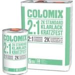 COLOMIX Лак бесцветный 2K 2:1 стандартный antiscratch 1л (Отвердитель отдельно арт.43875601)