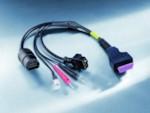 BOSCH 1684463637 (25pin) MAZDA кабель с адаптером