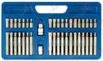 VOREL 66410 Набор бит с битодержателями, 40пр. (10мм)(75/30мм: T20-T55,H4-H12,M5-M12) в пластиковом кейс