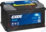 EXIDE Excell EB802 80Ah 700A (R+) (315x175x175)