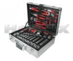 HOREX AUTO HZ 24.1.127 Набор инструмента в алюминиевом кейсе, 127 предметов, артикул № HZ 24.1.127