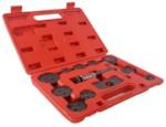 AE&T TA-B1010 Инструмент сведения тормозных цилиндров (12 предметов)