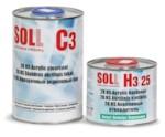 SOLL Лак акриловый C3 HS 2K в комплекте с отв. H3 2:1 1л+0.5л