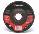 WURTH 0578925Z80 Диск лепестковый Optimum, 125 мм, P80
