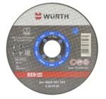 WURTH 0669201250 Круг отрезной d 125х1,0 мм., RED LINE сталь