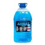 АЛМАZ Стеклоомывающая жидкость -20С 4л РБ (Этиловый спирт <37%)