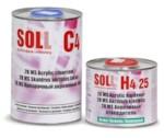 SOLL Лак акриловый C4 MS 2K в комплекте с отв. H4 Normal 2:1 1л+0.5л
