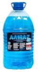 АЛМАZ Стеклоомывающая жидкость -30С 5л РБ (Этиловый спирт <47%)