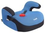 SIGER KRES0188 Детское автомобильное кресло без спинки БУСТЕР FIX груп.3 совместимо с креплением ISOFIX (22-36кг, от 3 до 12 лет) (синий)