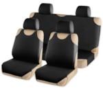 ARNEZI A0508015 Комплект чехлов-маек на сиденья с подголовниками (черный)