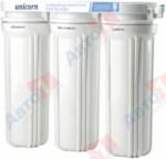 Unicorn Система очистки воды под кухонную мойку 3-х ступенчатая, (Тройная система под мойку (кран в комплекте))