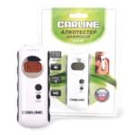 CARLINE ALCO-101_Алкотестер цифровой, яркий дисплей с подсветкой, звуковое предупреждение, 2 шкалы измерений