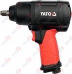 YATO YT-09540_Пневмогайковерт ударный, 1/2 inch, 1150 Нм, 153 л/мин, композитный корпус, 6.3 бар, 10000 о