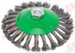 ВОЛАТ Щетка дисковая косич.125мм/M14 (Китай) (81060-125)
