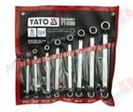 YATO YT-0396 Набор ключей накидных изогнутых 8 пр: 6х7, 8х9, 10х11, 12х13, 14х15, 16х17, 18х19, 20х22 мм