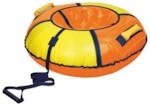 НИКА Тюбинг-ватрушка ТБ1К-70 700мм (оранжевый/желтый)