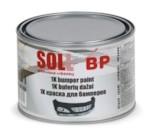 SOLL Краска акриловая для бампера черная 0,5л
