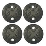 HOREX 12051 Подушки резиновые для подъемника, (1 к-т = 4 шт)