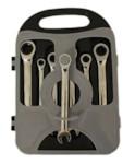 HOREX AUTO HZ 26.1.009L Набор ключей комбинированных трещоточных, 7 предметов