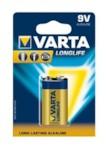 VARTA 04122113411 Батарейка LONGLIFE 1x9V (Крона)