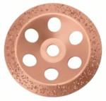 BOSCH 2.608.600.367 Шлифкруг чашечный твердосплавный для УШМ 180-22.23 мм крупнозернистый, скошенный