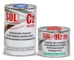 SOLL Лак акриловый C2 HS 2K в комплекте с отв. H2 2:1 1л+0.5л