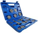 AE&T TA-B1009 Инструмент сведения тормозных цилиндров (18 предметов)
