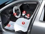 WURTH 85990753 Набор одноразовых защитных покрытий для автомобиля 5 в 1 (Сlean Set)