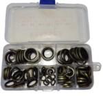 KING 30130 Комплект шайб с резиной 100 пр KR-100