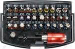 "YATO YT-04622 1/4"" Набор бит 32 пр, с битодержателем"