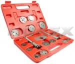 HOREX AUTO HZ 25.1.010L Набор инструмента для возврата тормозных цилиндров 18 предметов