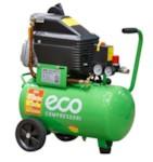 ECO AE-251-3 Компрессор (235 л/мин, 8 атм, коаксиальный, масляный, ресив. 24 л, 220 В, 1.50 кВт)