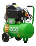 ECO AE-251-4 Компрессор (260 л/мин, 8 атм, поршневой, масляный, ресив. 24 л, 220 В, 1.80 кВт)
