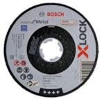 BOSCH 2608619255 Круг отрезной 125х2.5x22.2 мм для металла X-LOCK Expert for Metal (прямой)