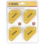 Denzel 97555 Набор из 4 магнитных фиксаторов для сварочных работ